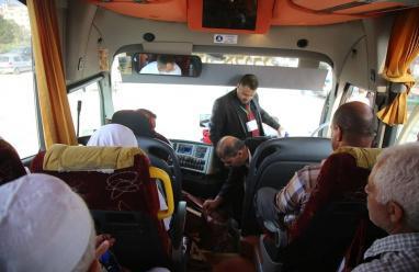 طولكرم : 300 حاج وحاجة يغادرن  إلى الديار الحجازية