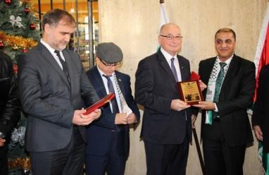 """افتتاح معرض طوابع في العاصمة البلغارية بعنوان """"فلسطين في عيون العالم"""""""