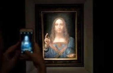 عرض لوحة لدافينتشي بـ 450 مليون دولار في متحف اللوفر أبوظبي