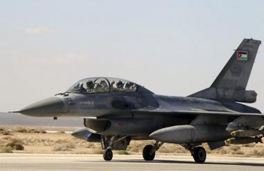 تحطم طائرة عسكرية أردنية ونجاة طاقمها