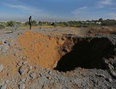 أثار القصف العنيف شرق غزة