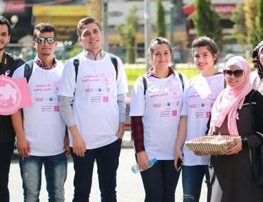 """اطلاق حملة الفحص المبكر لسرطان الثدي """"افحصي و طمنينا"""" في نابلس"""