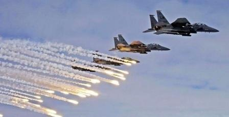 طائرات اسرائيلية تقصف محيط مطار دمشق
