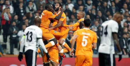 بشكتاش التركي يبلغ دور الـ16 لأبطال أوروبا لأول مرة