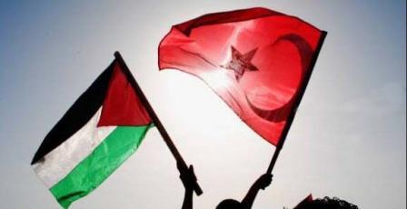 السفير مصطفى يطلع رئيس الشؤون الدينية التركي على تطورات الاوضاع في فلسطين