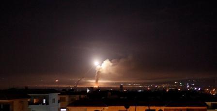 سانا: اسرائيل تقصف موقعا للجيش السوري في حلب