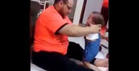 """بالصوت: عائلة القططي تتحدث لراية حول فيديو """"ضرب الطفلة"""""""