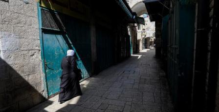القدس خالية من أهلها وزوارها بسبب فيروس كورونا