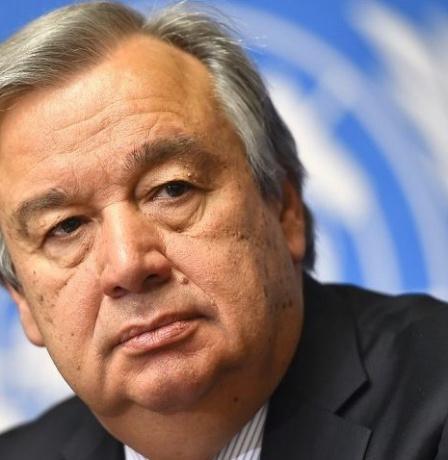 الأمين العام للأمم المتحدة يبعث برسالة تعزية لعائلات القتلى الاسرائيليين