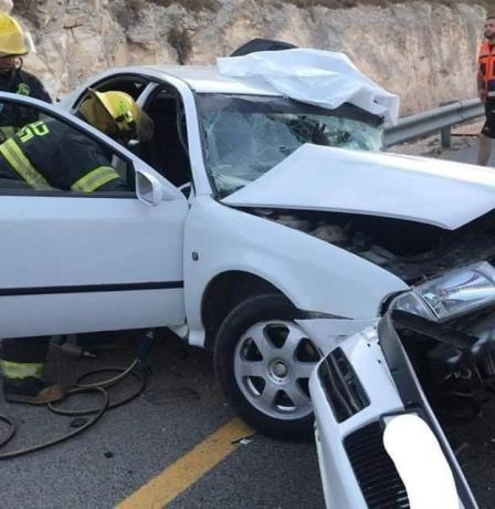 مصرع مواطن في حادث سير شمال القدس