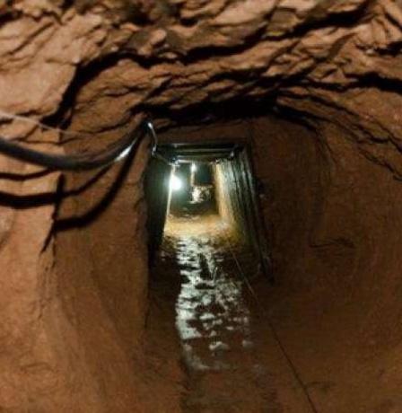 اختطاف 3 عمال فلسطينيين من نفق تجاري جنوب القطاع