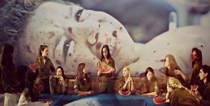 """فيديو : معرض افتراضي للفنانة مسلماني بعنوان """"القدس عاصمة فلسطين"""""""