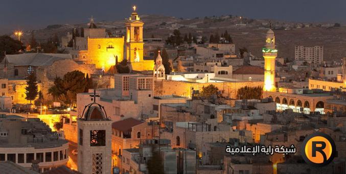 وفد الروائيين العرب يزور بيت لحم