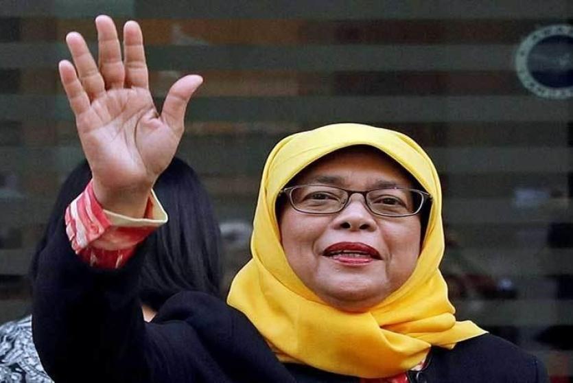 أول إمراة لرئاسة سينغافورة دون منافسين