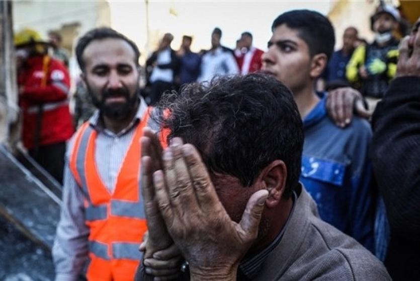 حداد في ايران: 430 قتيلا  و 7718 مصابا