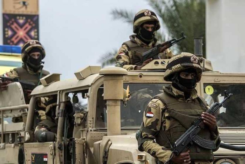 العملية العسكرية في سيناء