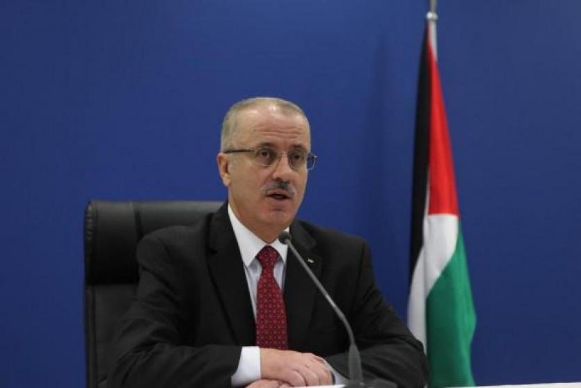 رئيس حكومة تسيير الأعمال رامي الحمد الله