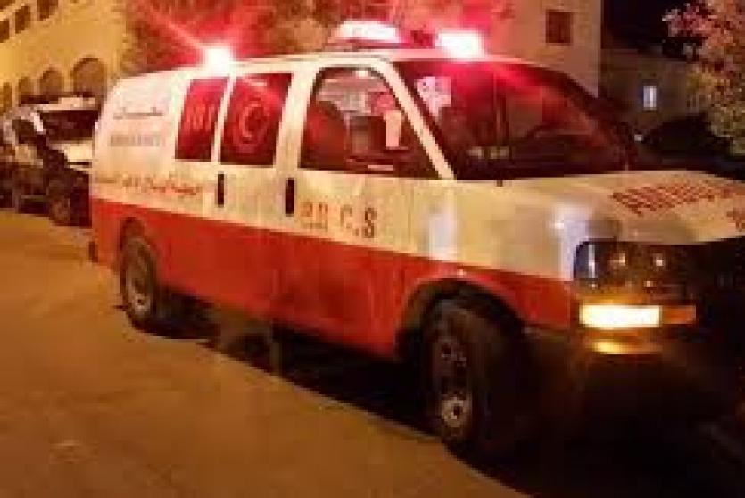 إسعاف فلسطيني -أرشيف-
