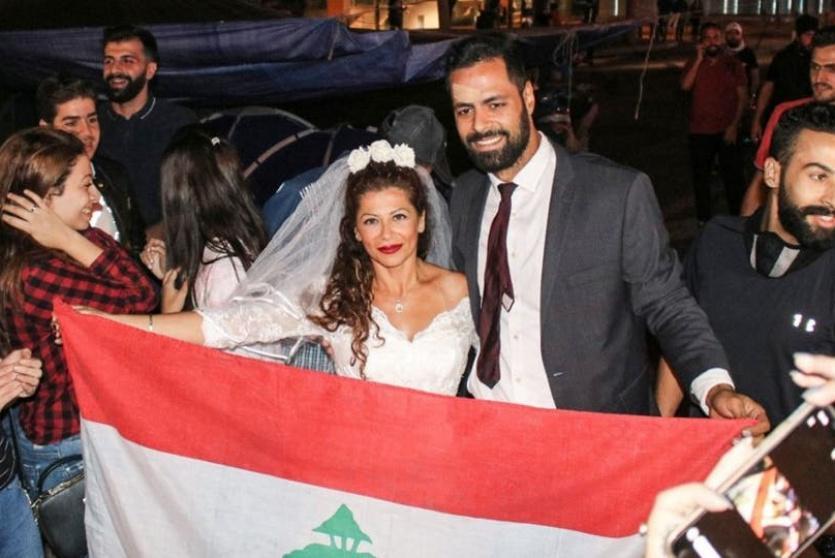 ملاك علوية وزوجها محمد