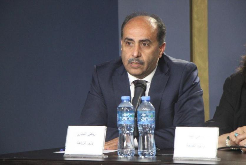 وزير الزراعة رياض العطاري