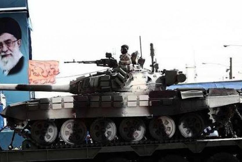 عرض عسكري ايراني