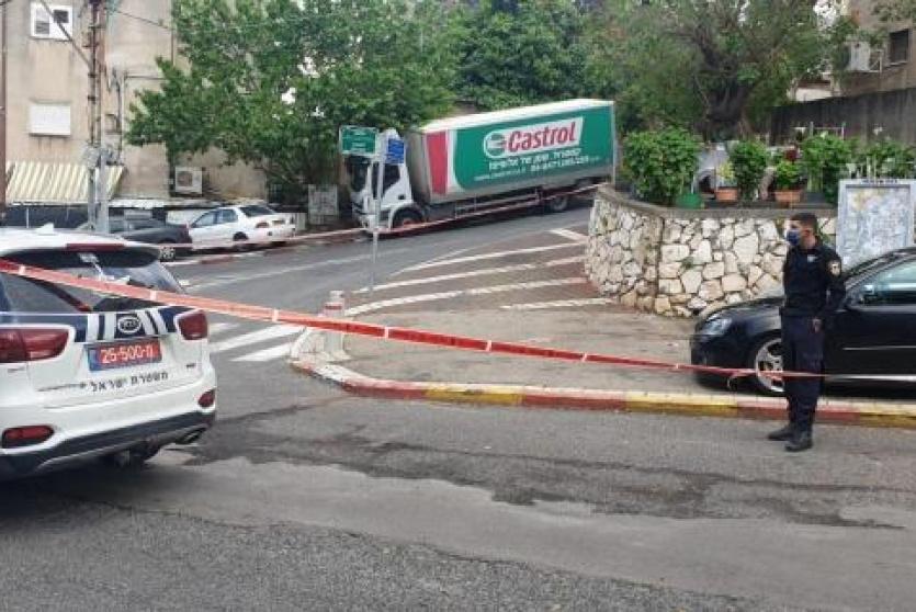 مكان الحادث