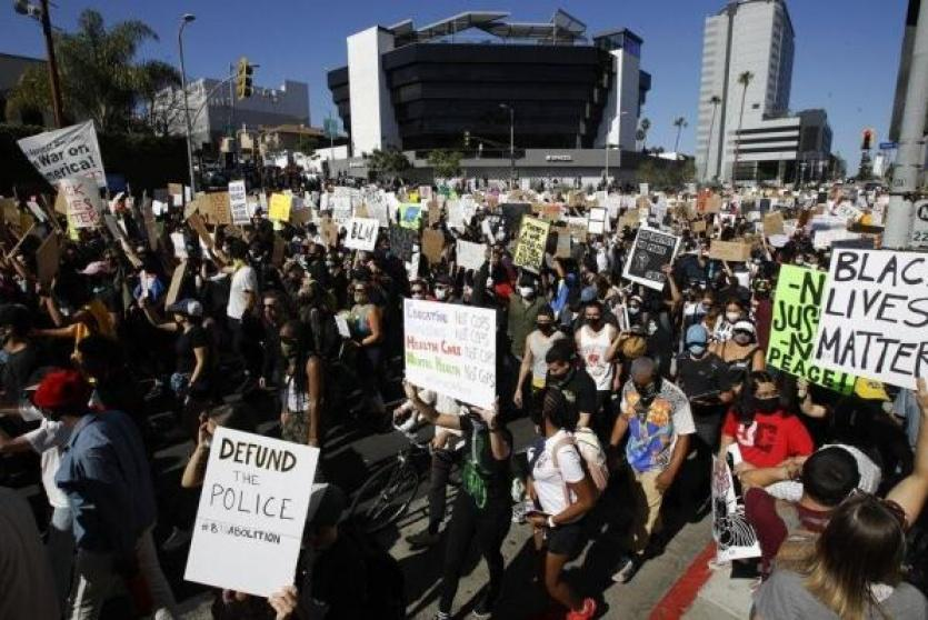 تظاهرات امريكا