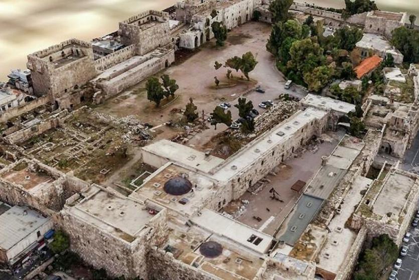نموذج ثلاثي الابعاد لقلعة دمشق
