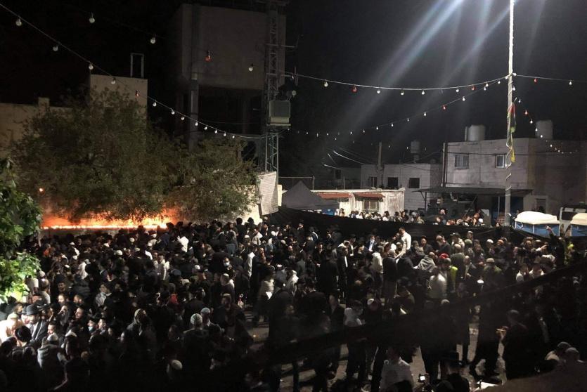 آلاف المستوطنين يقتحمون المقامات الاسلامية شمال سلفيت