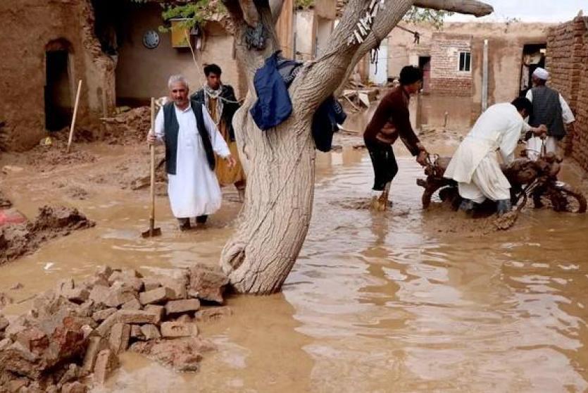 الفيضانات في أفغانستان