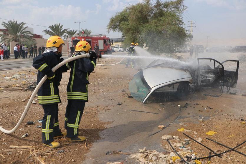 الدفاع المدني ينفذ مناورة في بيت لحم