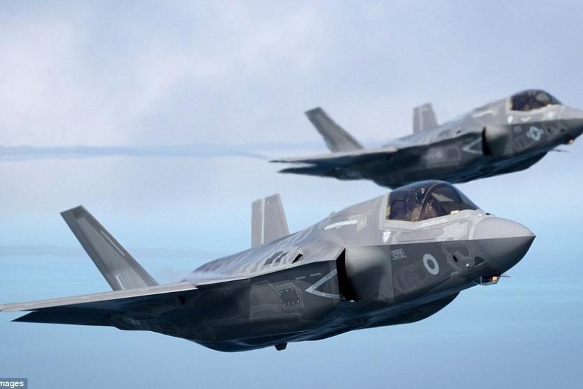 طائرتان حربيتان في الطريق لإسرائيل
