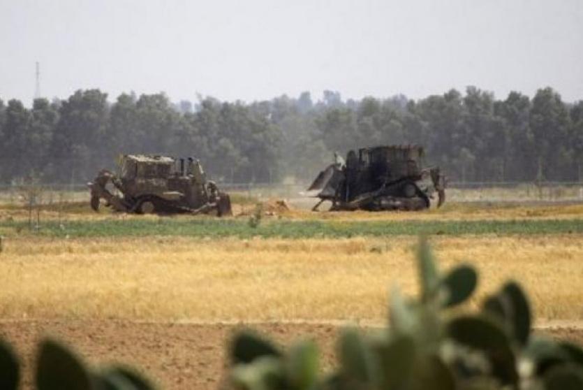 تحليق للطائرات وتوغل لجرافات الاحتلال شمال بيت لاهيا