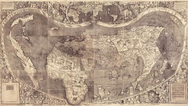 شبكة راية الإعلامية من أول من رسم خريطة العالم